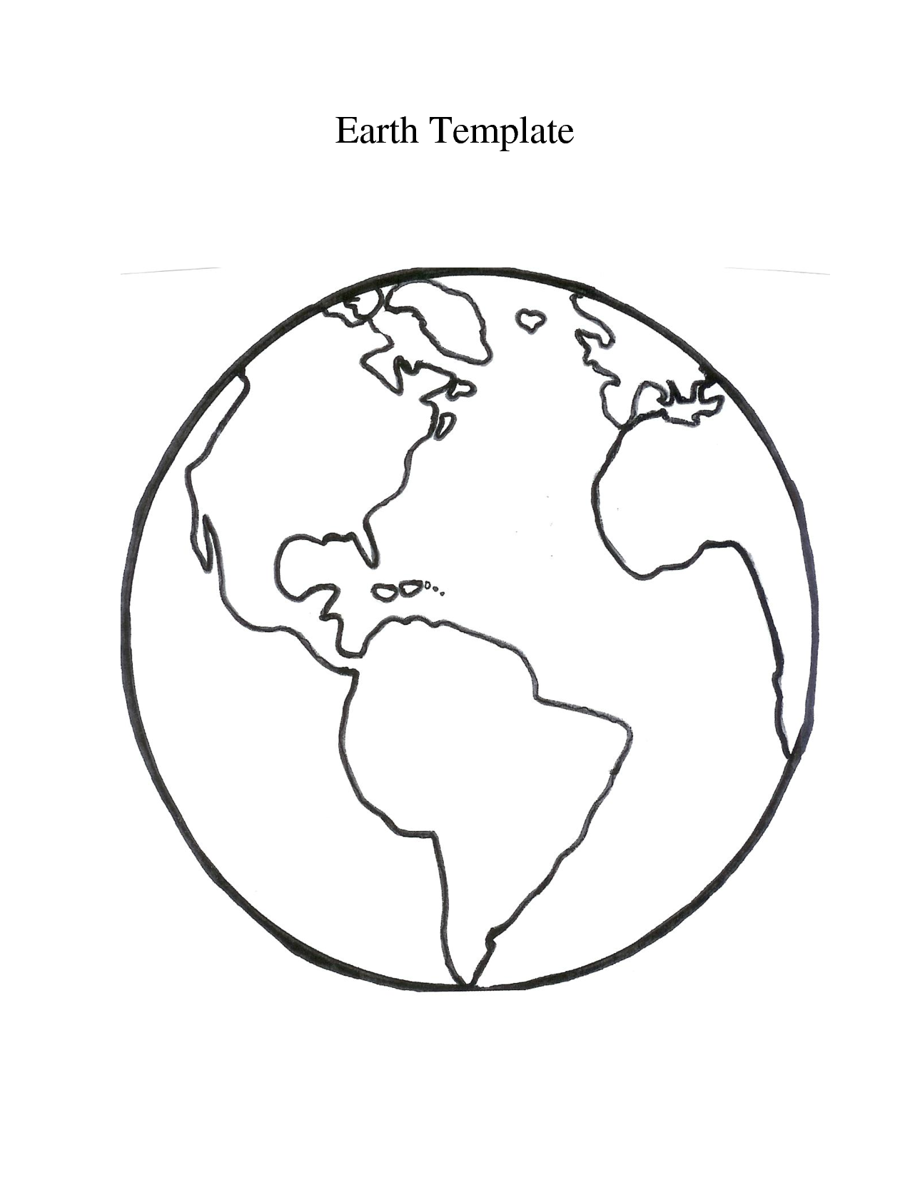 Globe Printable Globe Template Free Printable World Map World Map Crafts World Map Outline