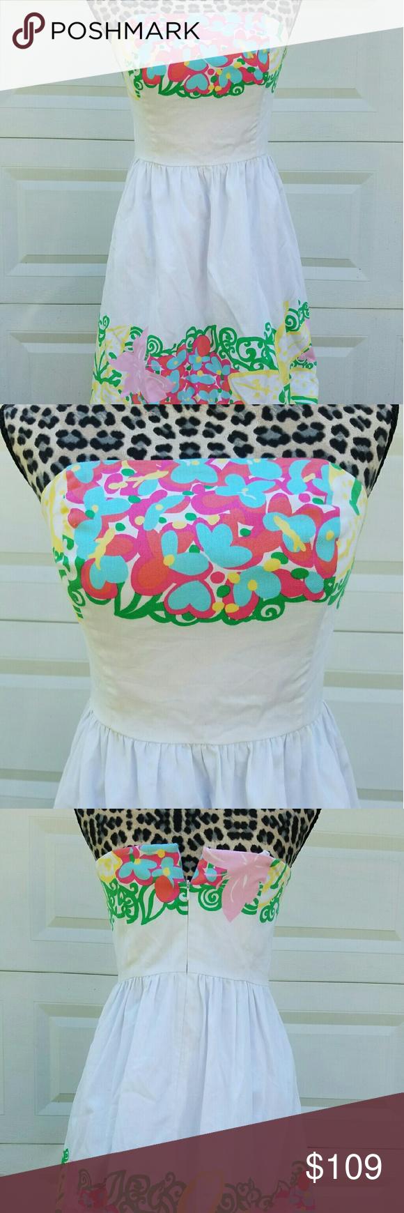 White mariposa lilly dress