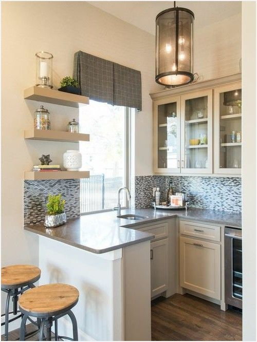 Houzz small kitchen how to small kitchen peninsula houzz - Kitchen layout designs for small spaces ...