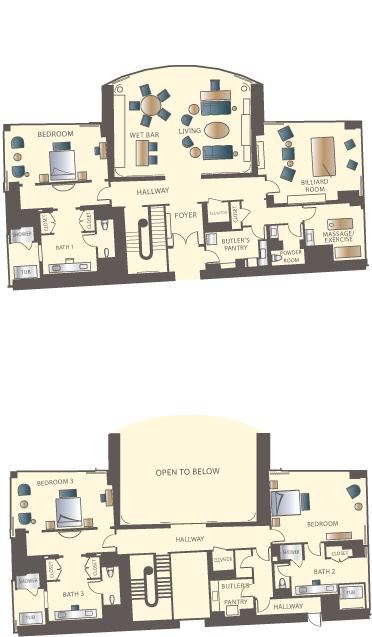 Luxury Three Bedroom Duplex Las Vegas Encore Resort Las Vegas Travel Places To Stay