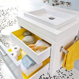 modern bathroom by De Meza + Architecture