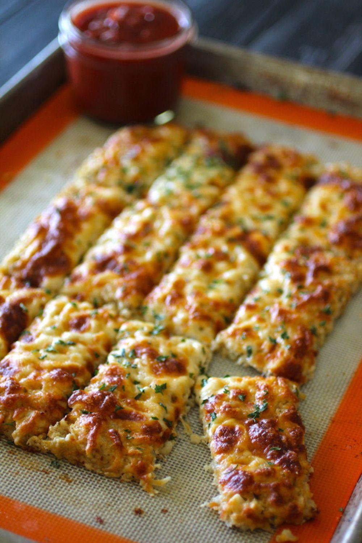 Garlic Parmesan Cauliflower Breadsticks Dinner In 2019