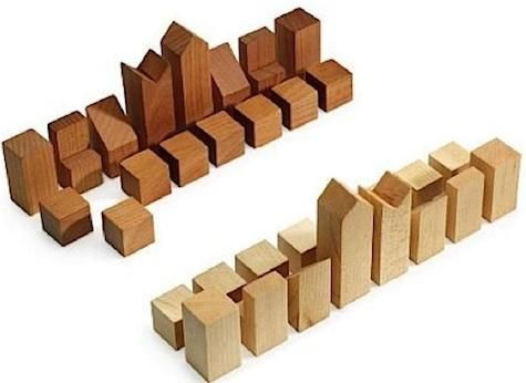 Gift guide for the game player search by and wood blocks - Simple chess set ...