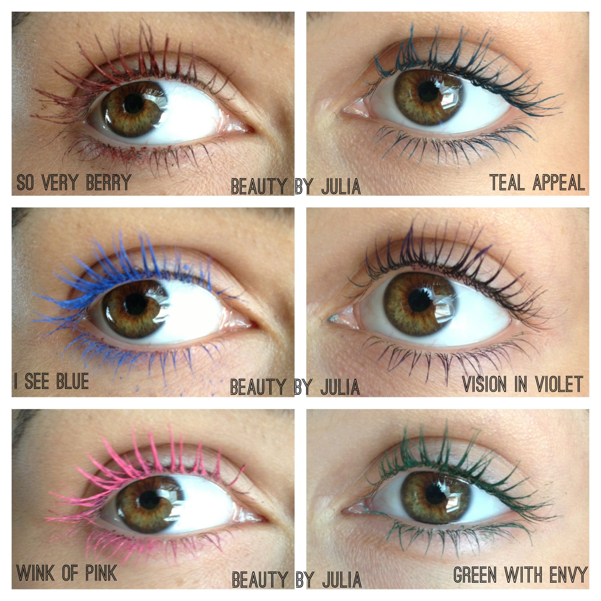 6e8c295246a NEW maybelline colored mascara! - could this ever look non-circus??? Hmm