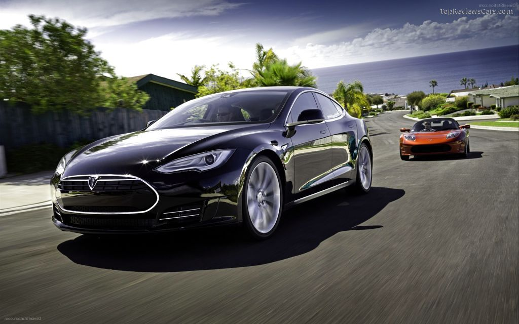 New 2017 Tesla Model S Wallpaper Desktop Background HD