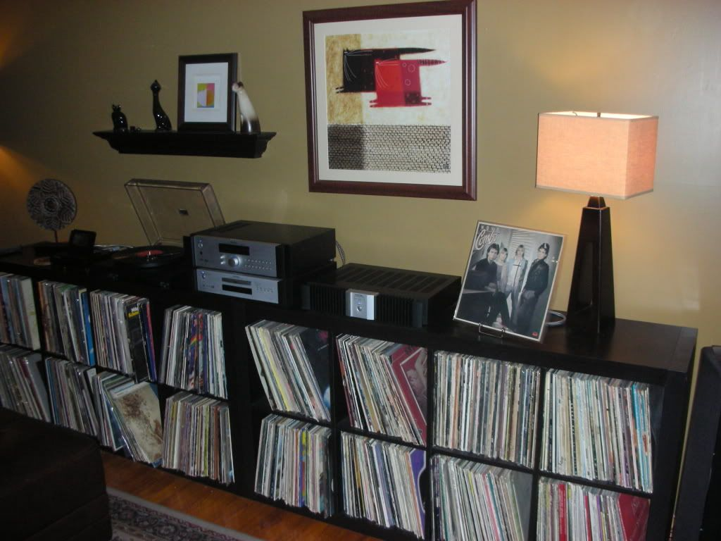 ikea expedit for record storage show yours home audio stereo