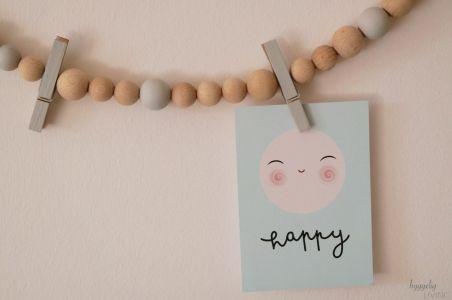 Memoboard Kinderzimmer ~ Memoboard fotoleiste aus holzkugeln holz diy pinterest