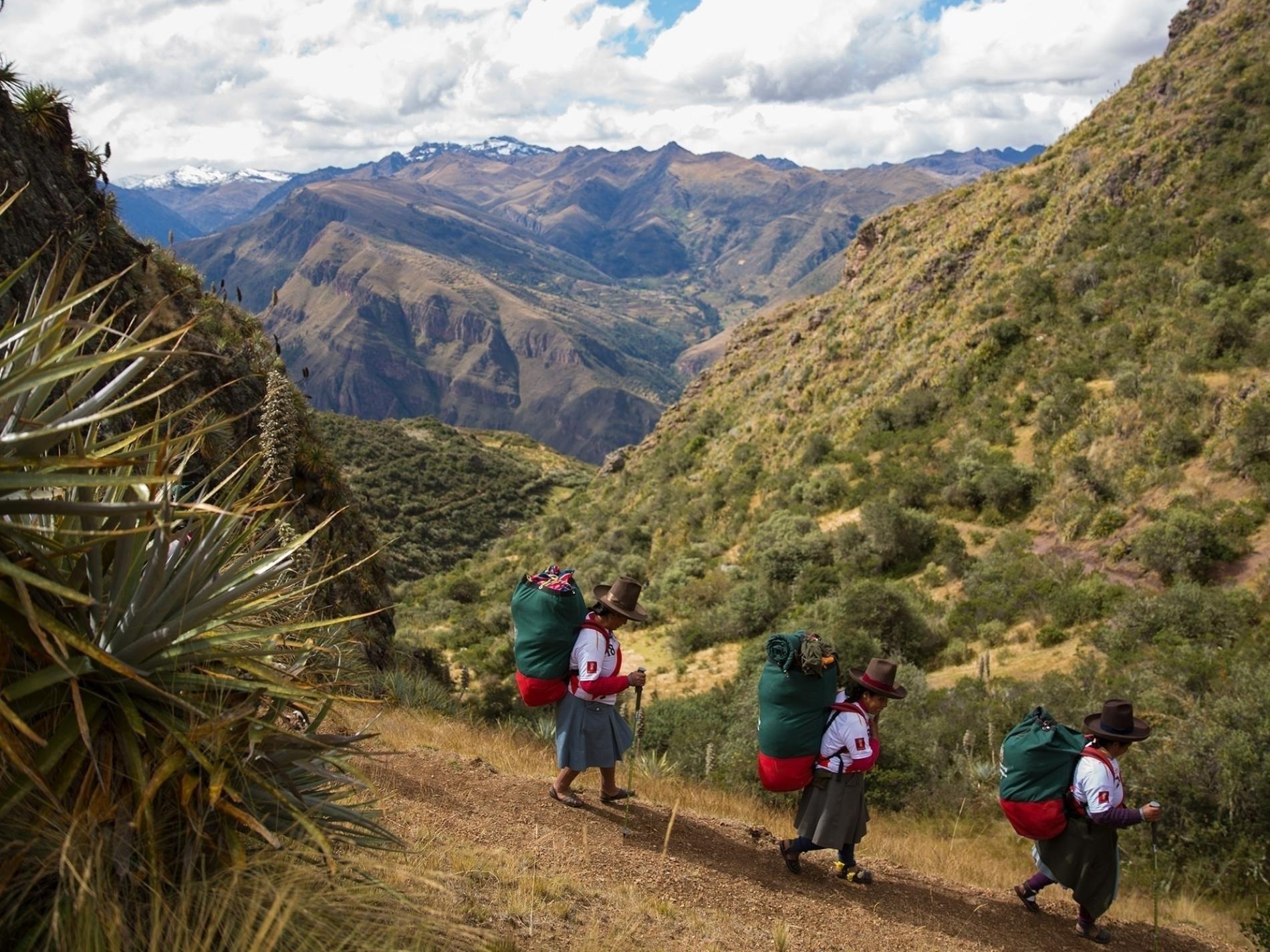 Meet The Women Making History On The Trail To Machu Picchu