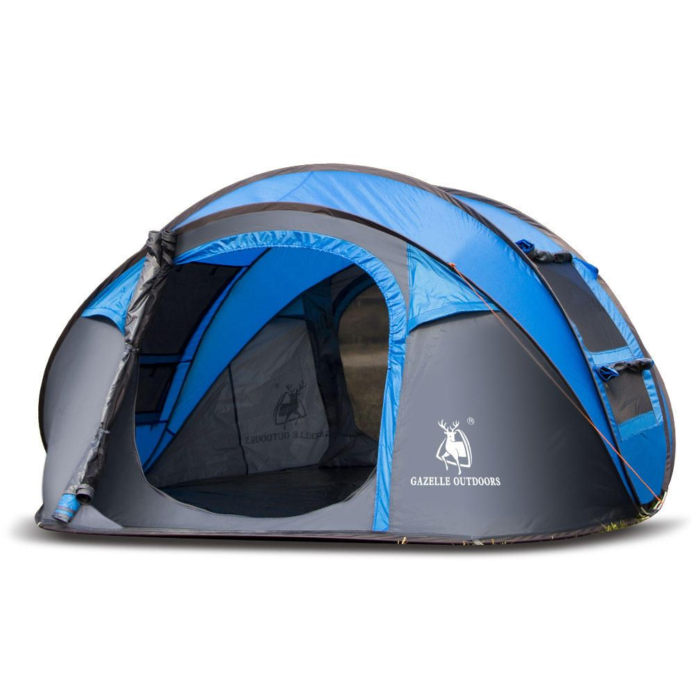 10b264e08f0 Instant Pop Up Tent Set-Up 3-4 Person Waterproof UV Protection Camping  Shelter