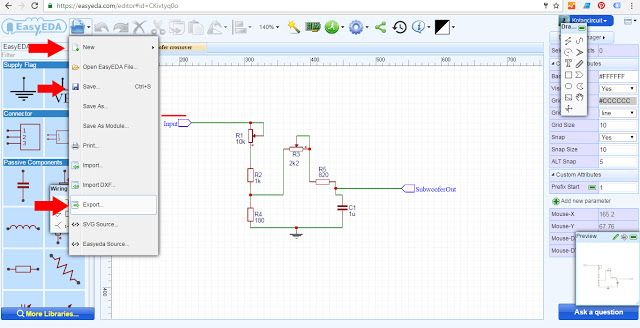 EasyEDA the Right tools for design schematic | Electronic circuit design