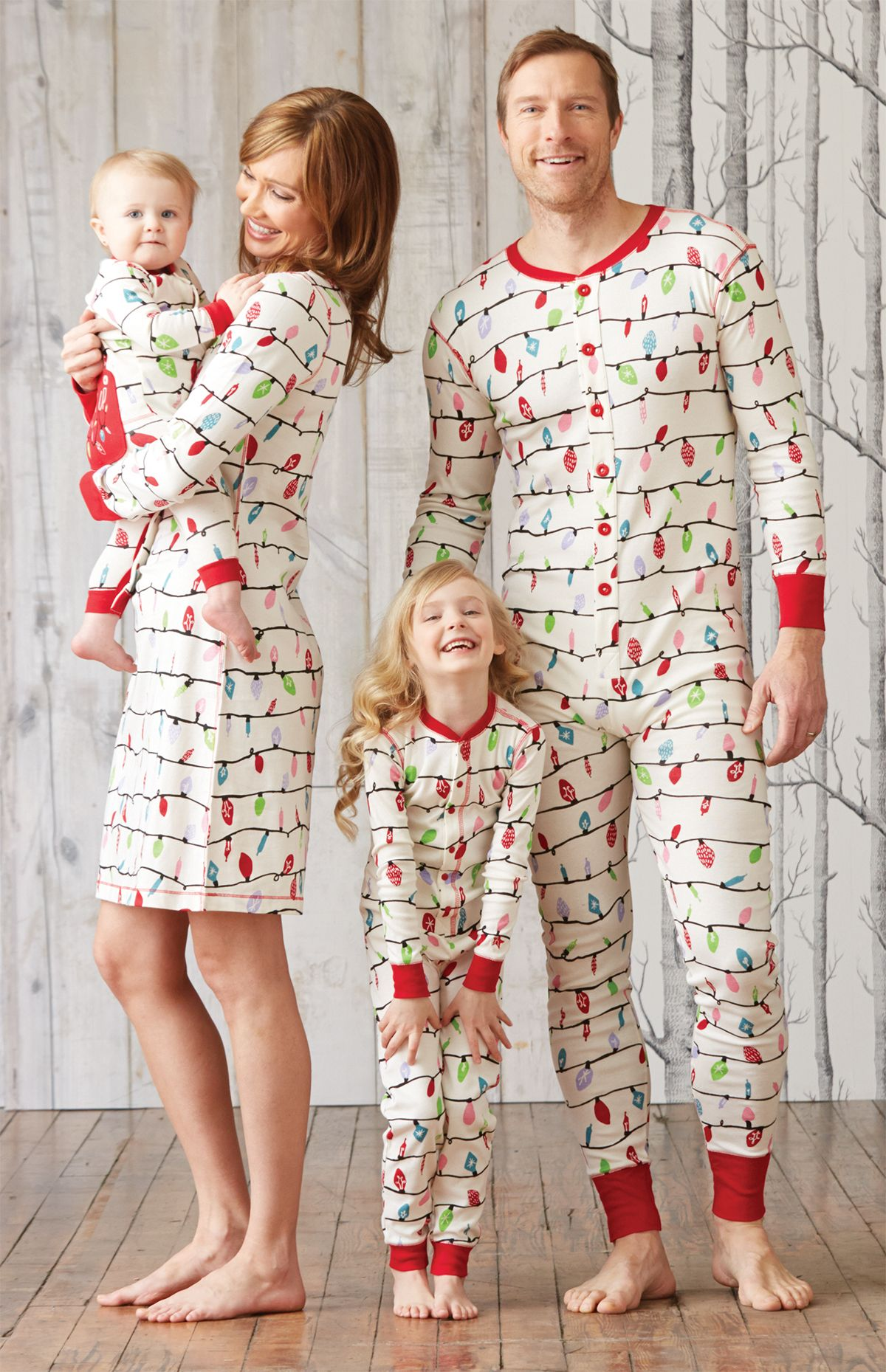Hatley matching family pj's for this Christmas. So dorky