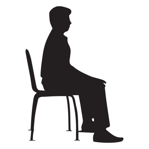 Man Sitting On Chair Silhouette Ad Paid Paid Sitting Chair Silhouette Man Silhouette Man Silhouette Man Sitting