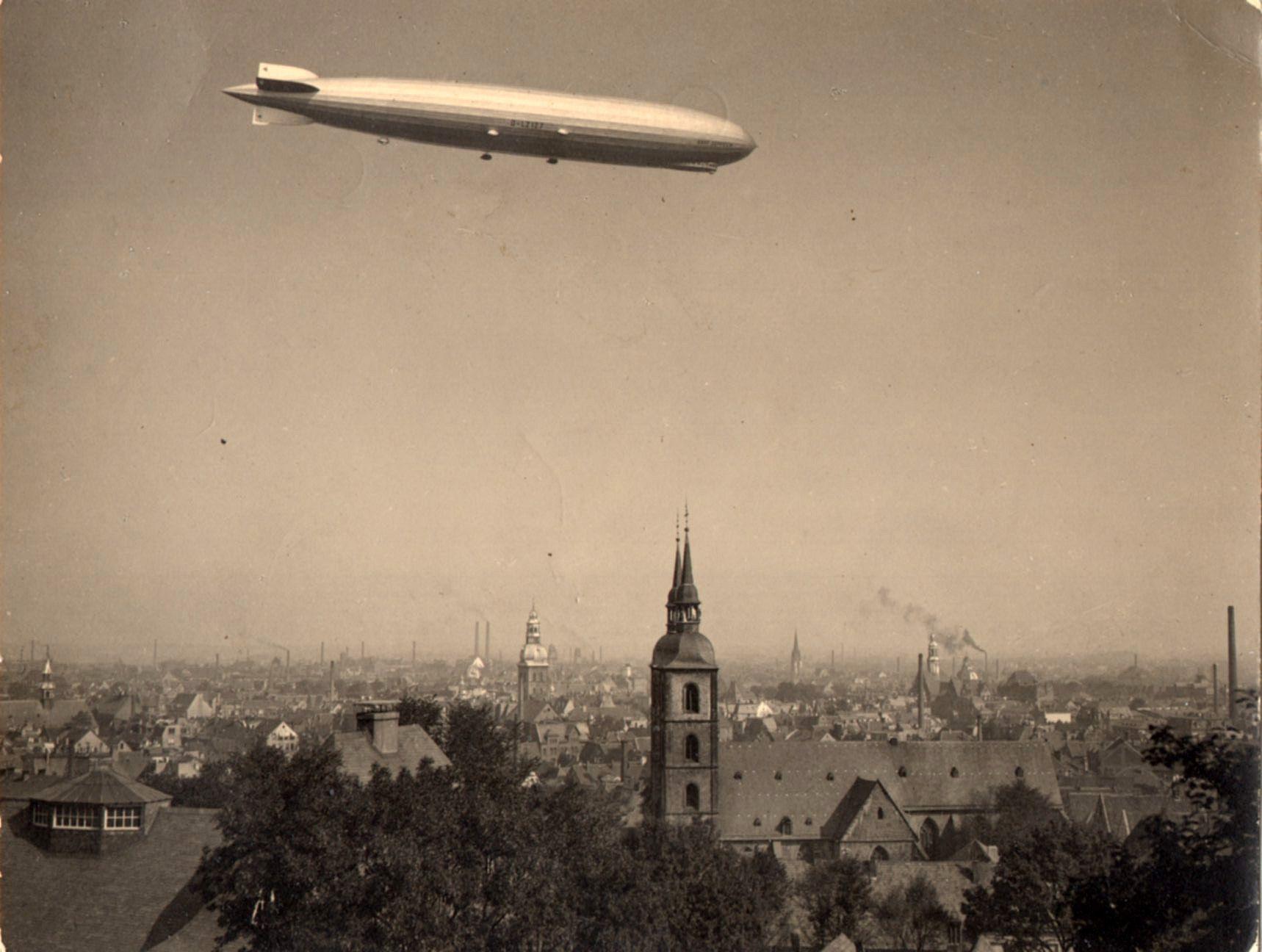 LZ127 Graf Zeppelin Bielefeld