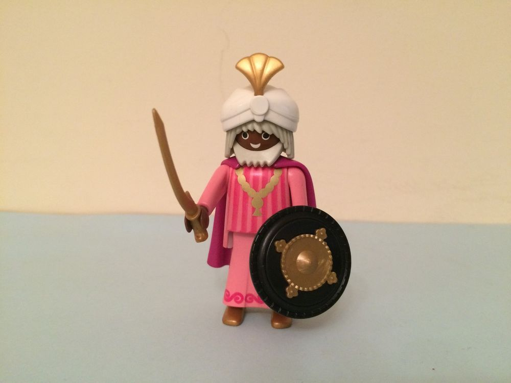 PLAYMOBIL - GUERRERO PRINCIPE SARRACENO ARABE - ARABIAN WARRIOR CUSTOM