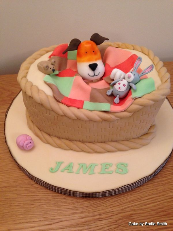 Kipper The Dog Birthday Cake