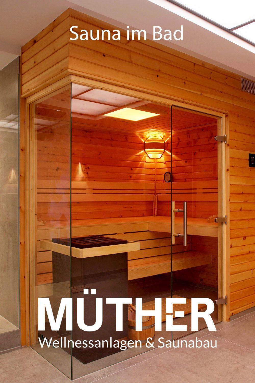 Pin On Sauna Im Bad In 2020 Luxury Pools Indoor Hot Tub Backyard Sauna