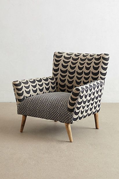 Bangala Armchair Anthropologie Anthrofave House Pinterest Inspiration Patterned Chair