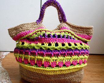 Crochet pattern, market shopper bag pattern, granny crochet bag pattern, crochet shopper pattern 234 Instant Download - Edit Listing - Etsy