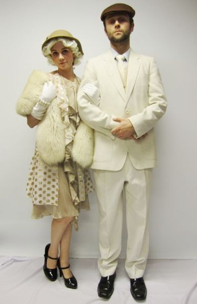 Great Gatsby couple Costume Creative Costumes Hollywood Couples Costume Ideas  sc 1 st  Pinterest & Great Gatsby couple Costume Creative Costumes Hollywood Couples ...