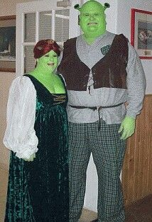 Shrek and Fiona Halloween costume for me n my honey!  sc 1 st  Pinterest & Shrek and Fiona Halloween costume for me n my honey! | Halloween ...