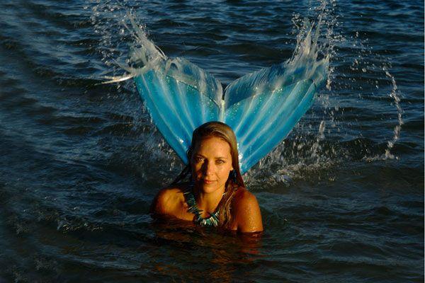 hannah mermaid   Hannah Mermaid river shoot