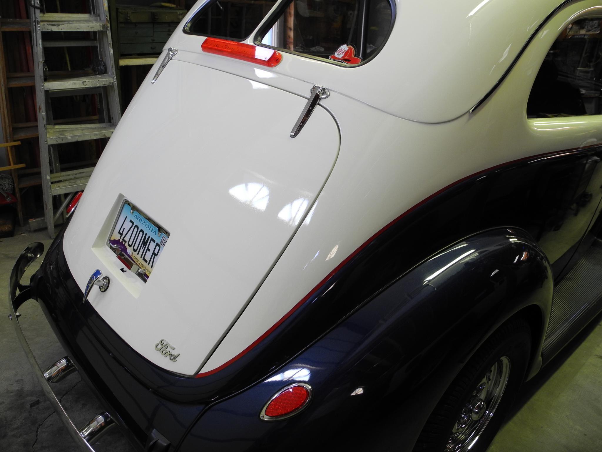 1937 Ford Sedan All Steel Deluxe Restored Sedan Tudor V8 For Sale Hotrodhotline In 2020 Sedan Ford Crate Motors