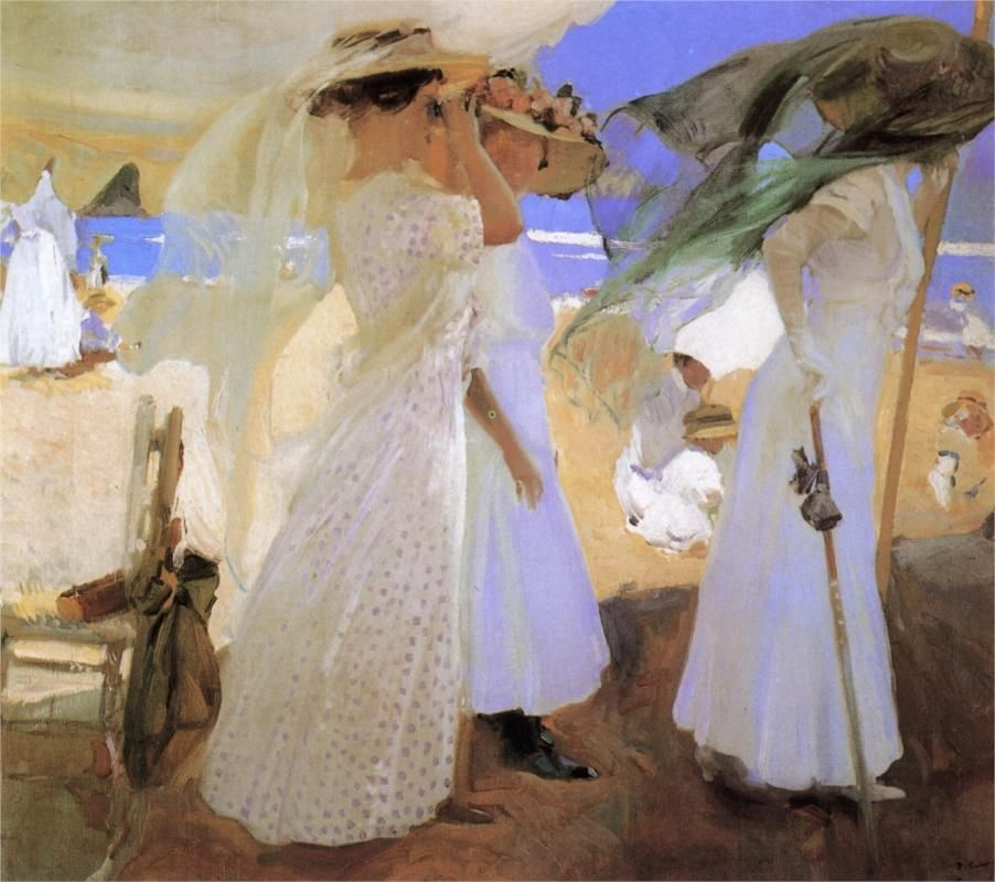 Page Beneath the Canopy Artist Joaquín Sorolla Completion Date 1910 Place of Creation & Page: Beneath the Canopy Artist: Joaquín Sorolla Completion Date ...