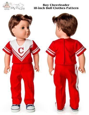 Boy Cheerleader 18  Doll Clothes Pattern #18inchcheerleaderclothes Clothes Patterns Boys - Boy Cheerleader 18  Doll Clothes Pattern... #ClothesPatterns #Boys #18inchcheerleaderclothes Boy Cheerleader 18  Doll Clothes Pattern #18inchcheerleaderclothes Clothes Patterns Boys - Boy Cheerleader 18  Doll Clothes Pattern... #ClothesPatterns #Boys #18inchcheerleaderclothes