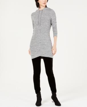 Bar Iii Hooded Sweatshirt Tunic Top Created For Macy S