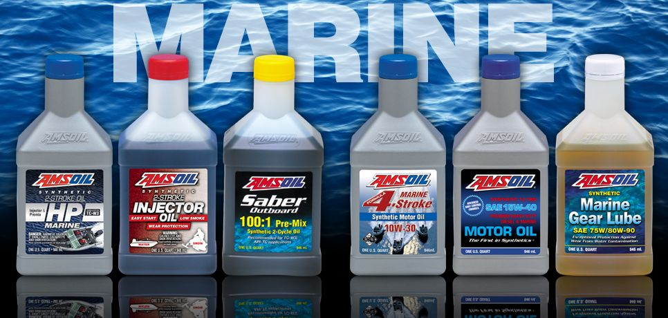 Use And Stock Only Full Synthetic Amsoil Marine Products