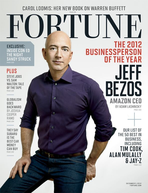 Jeff Bezos (Amazon CEO) Receives Fortuneu0027s Businessperson of the - tim cook resume
