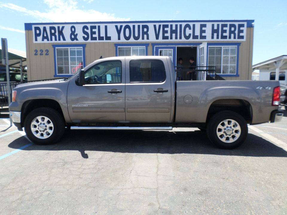 2012 Gmc Sierra 2500 Hd Crew Cab Sle Turbo Diesel Diesel For