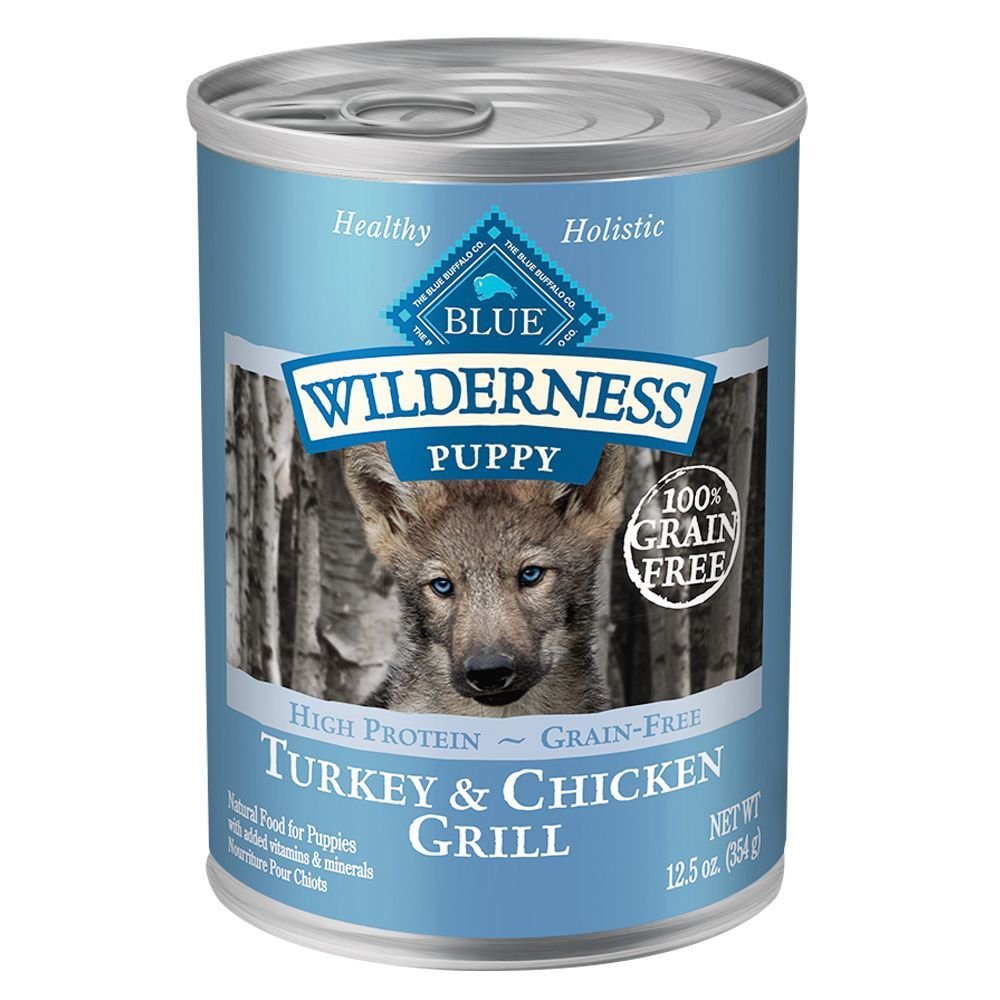 Blue Buffalo Wilderness Puppy Food Grain Free Turkey And