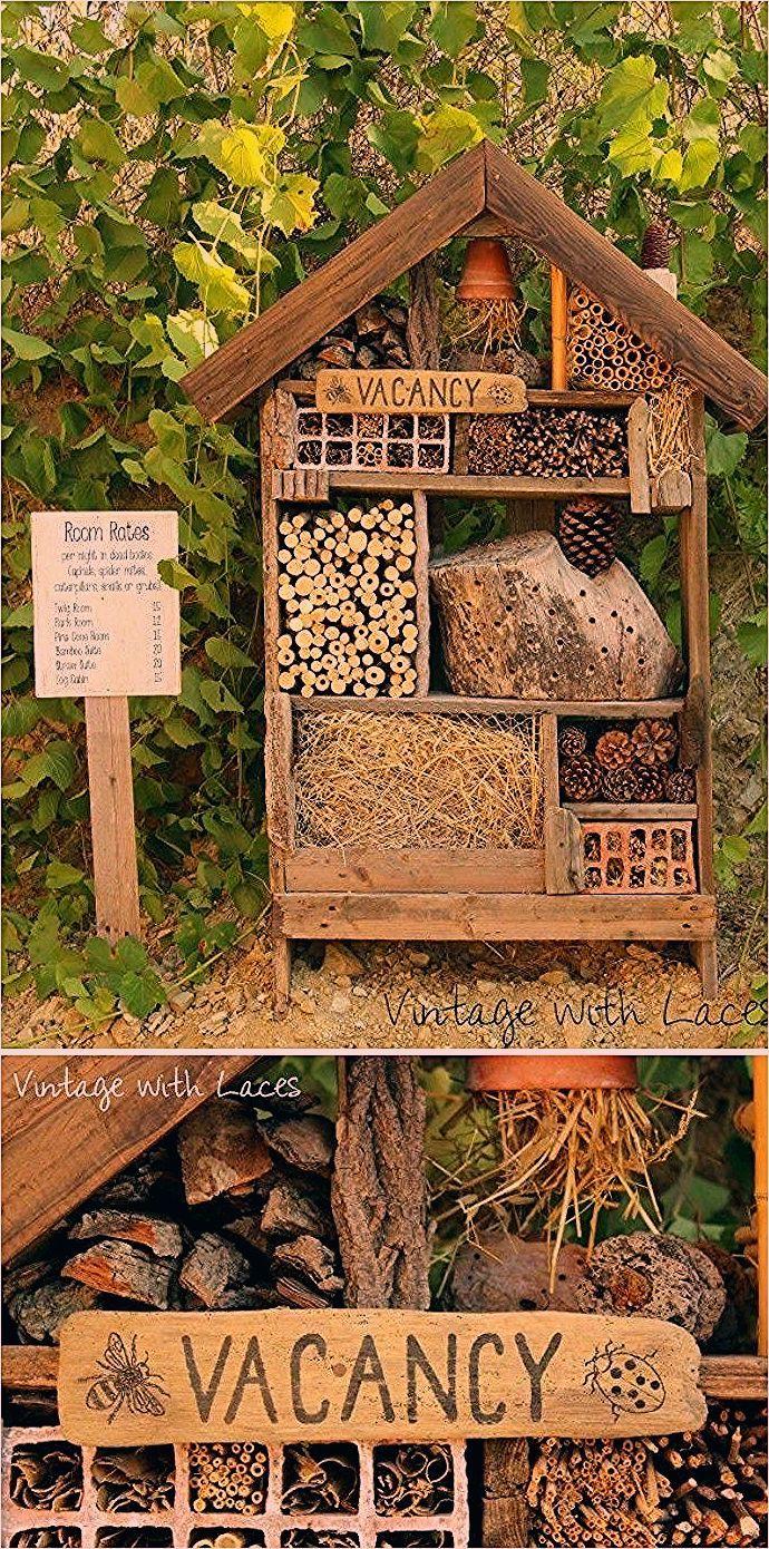 21 Lovely DIY Garden Decor Ideas You Will Love • DIY Home Decor