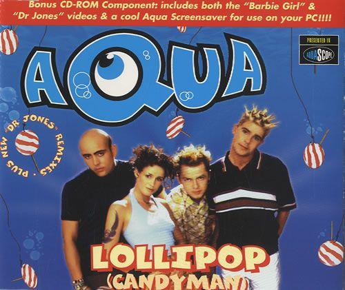 Aqua - Lollipop (Candyman) piano sheet music | Piano Sheet