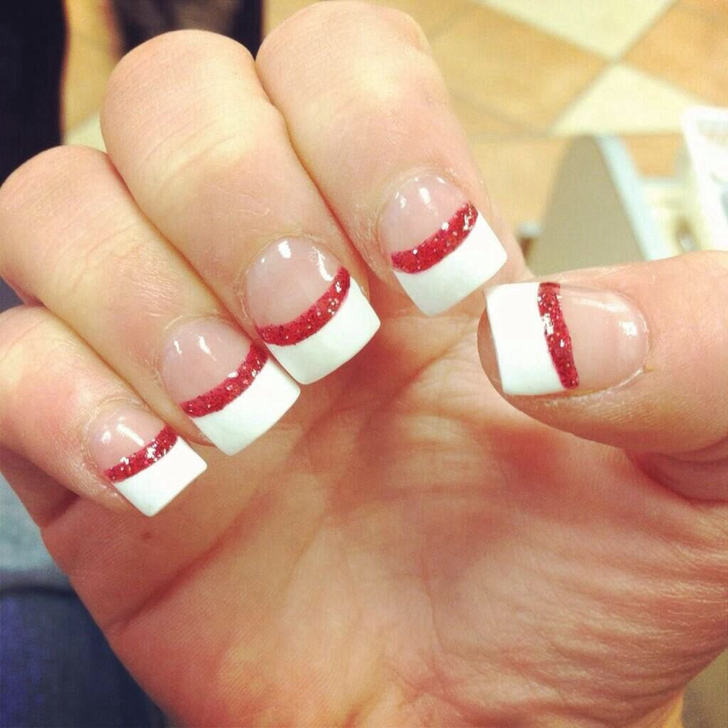 Pin by emily steele on nails pinterest acrylic nail designs simple but cute prinsesfo Choice Image