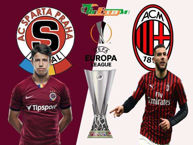 Nhận định Keo Sparta Praha Vs Ac Milan 11 12 Europa League Trong 2020 Ac Milan Milan Bong đa
