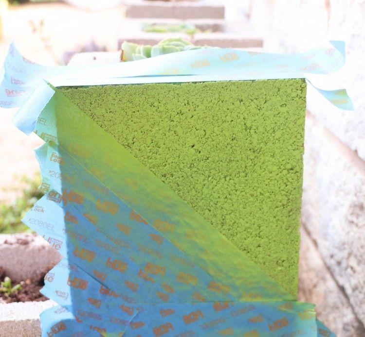 Jardiniere En Beton A Fabriquer En Parpaings Pour Les Plantes Succulentes Jardiniere Beton Parpaing Et Bricolage De Jardin