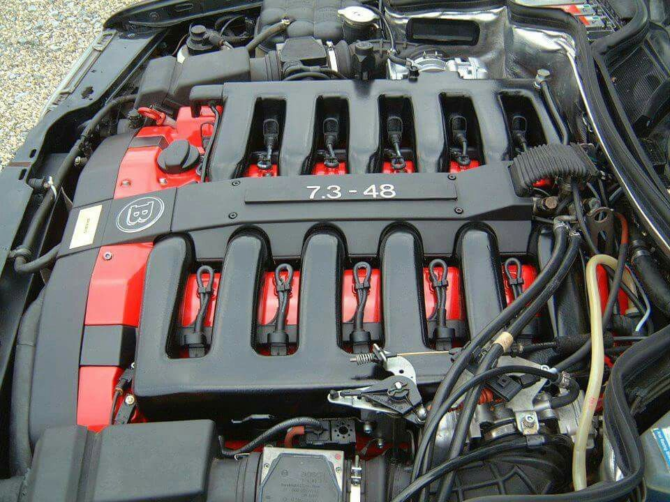 Brabus 7 3 V12 engine bay | LAMBORGHINI & OTHERS | Mercedes brabus