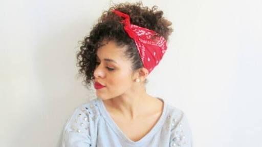 bandana cabelo cacheado - Pesquisa Google