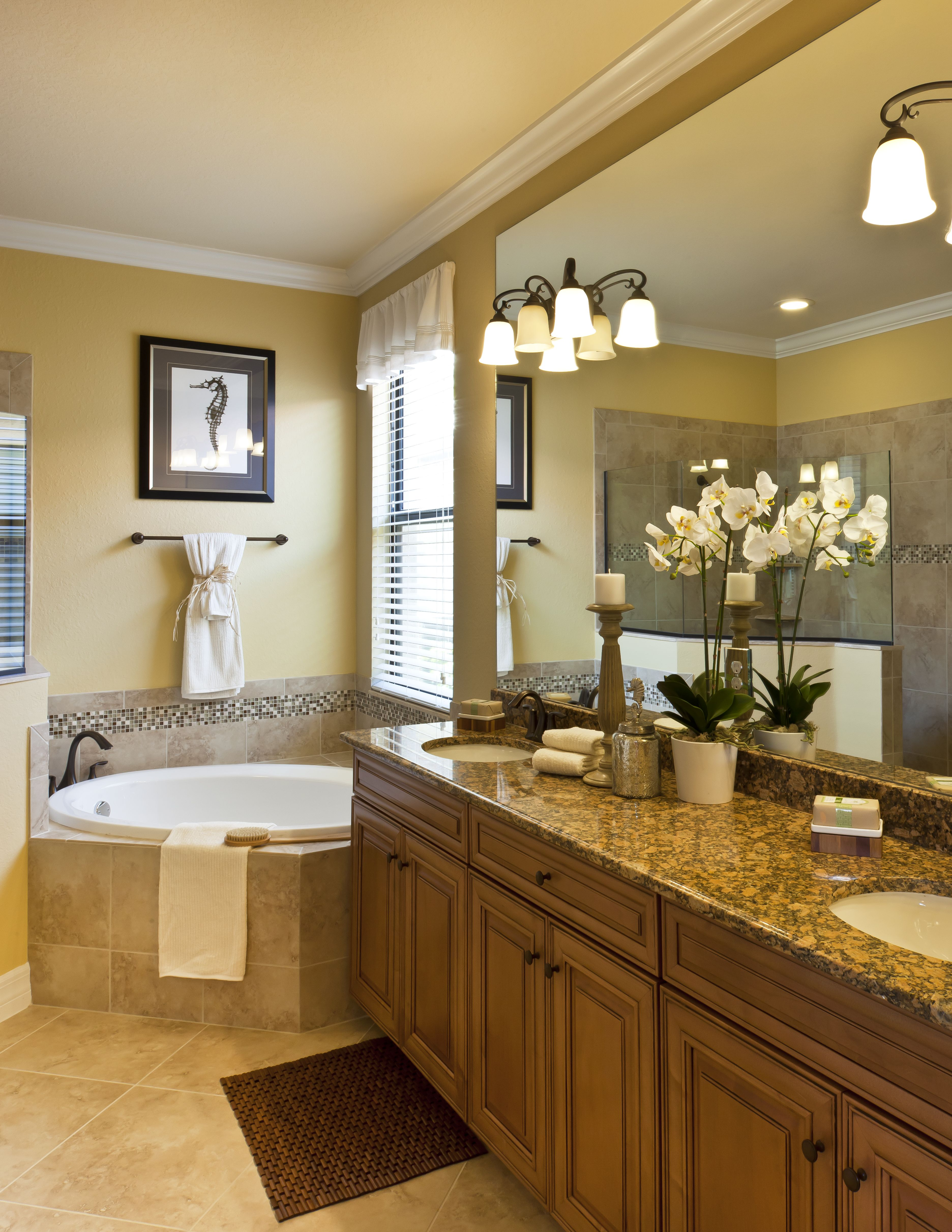 Spa Like Master Bathroom In This Isabella Model Home