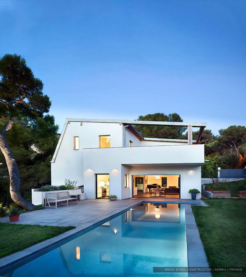 Maison Passive Contemporaine Constructeur Maison Maison Architecte Moderne Maison Contemporaine