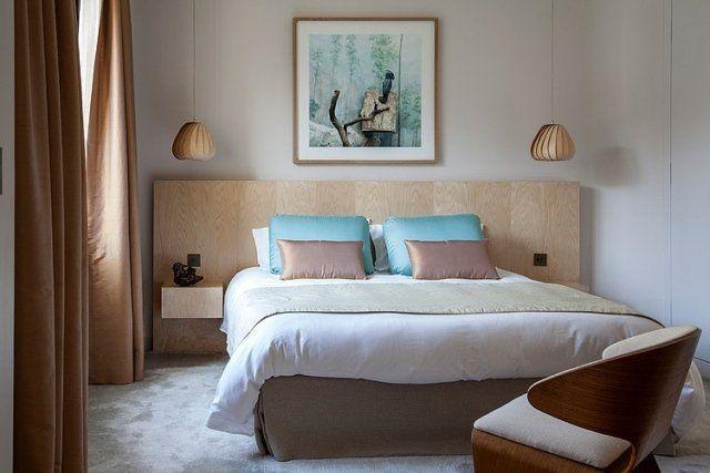 Chambre à coucher adulte – 127 idées de designs modernes | Rideaux ...