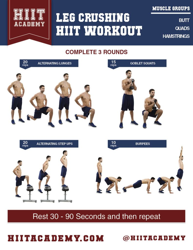 Need a quick leg workout? Here is one that lasts less than ...