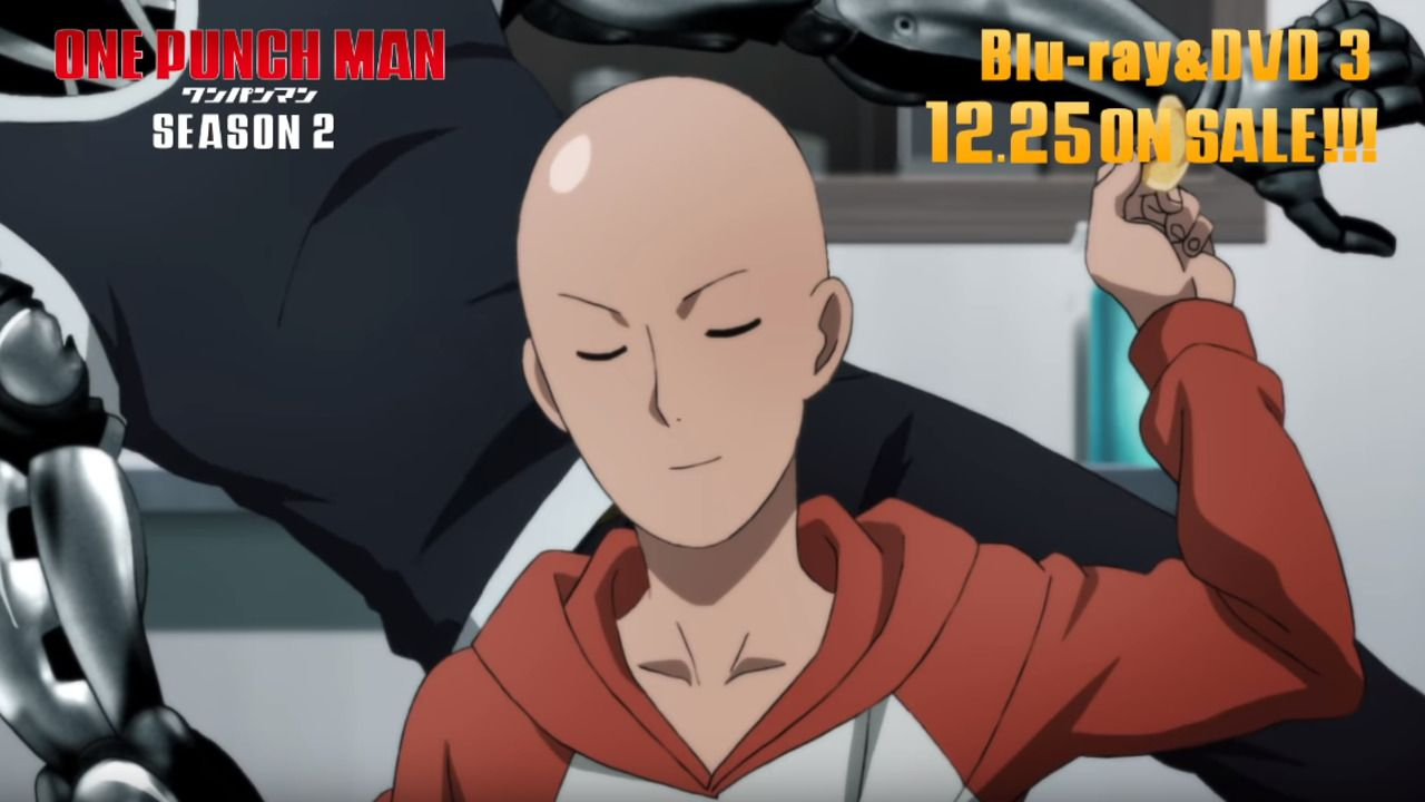 One Punch Man Season 2 Ova Special S New Trailer Is Released One Punch Man One Punch Man Season One Punch