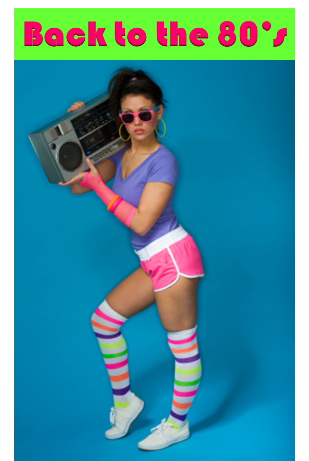 back to the 80s - 80s Dancer Halloween Costume
