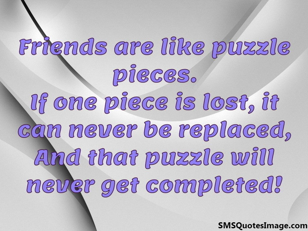 puzzle quotes about friendship