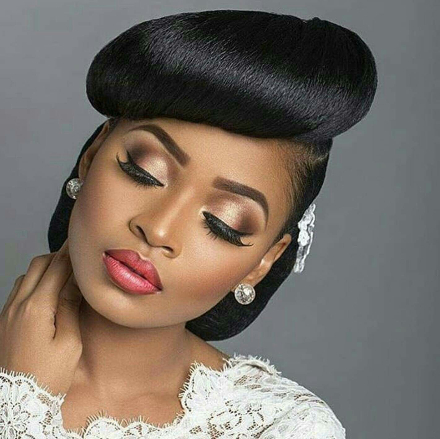 Wedding Hairstyle Makeup: Pin By Karleigh Hannah On Bride Makeup