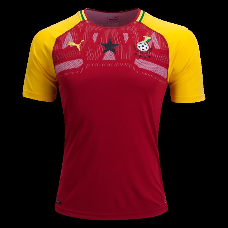 76367c7b889bd Ghana World Cup Jersey 2018