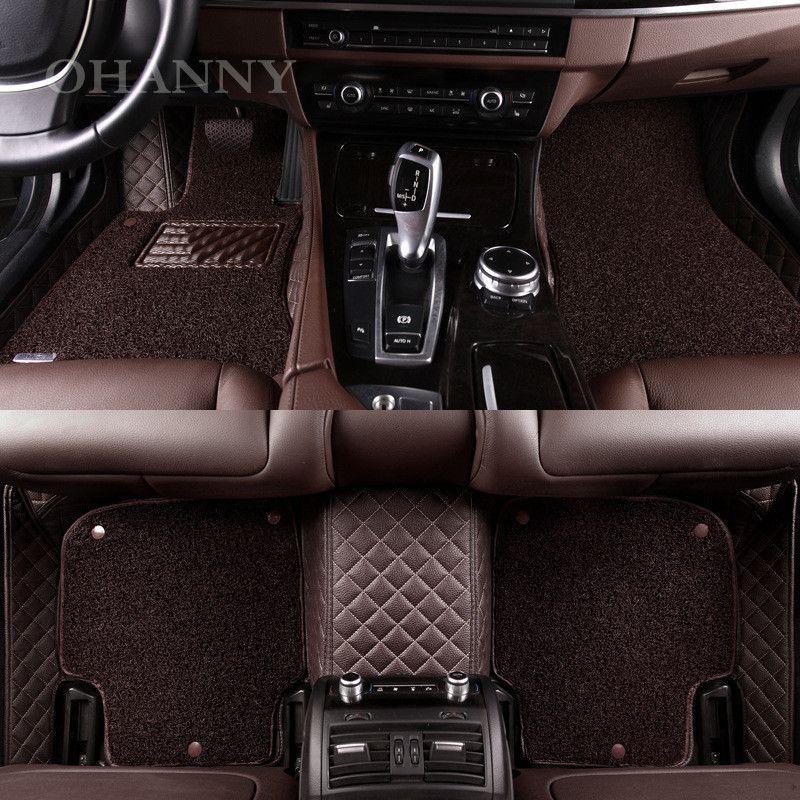 Ohanny Custom Fit Car Floor Mat Case For Renault Scenic Fluence